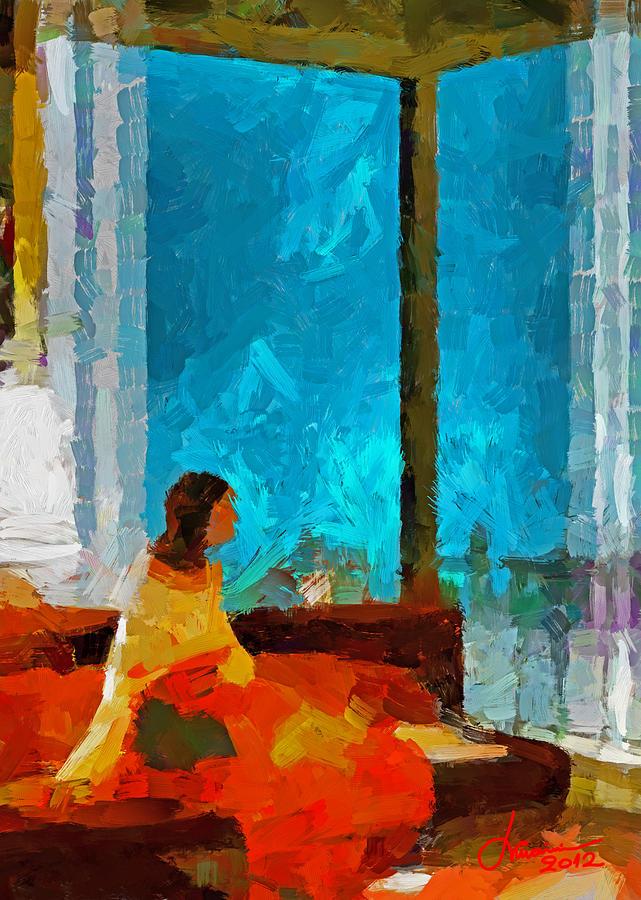 Lady Digital Art - Winter Tales Tnm by Vincent DiNovici