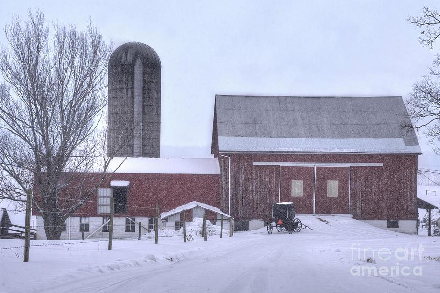 Winter Photograph - Winter Time Garrett County Maryland by Dan Friend