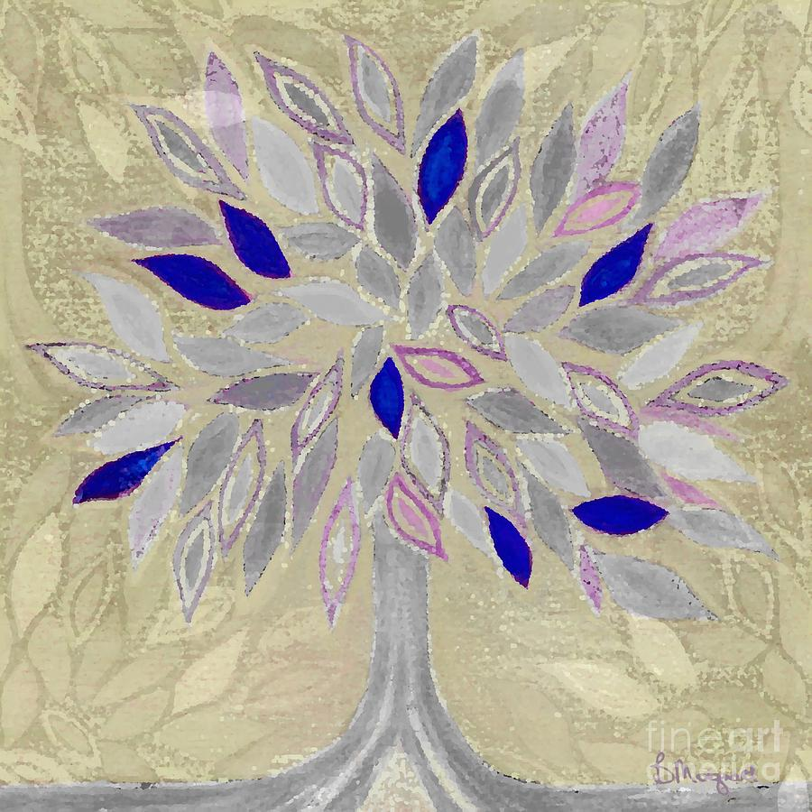 Tree Painting - Winter Tree by Barbara Moignard
