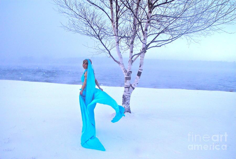 Empress Photograph - Winter Tree Empress by Shakaya Leone