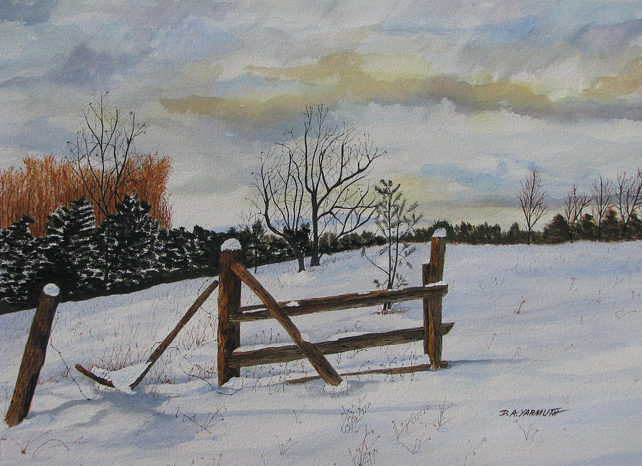 Winter Walk by Dale Yarmuth