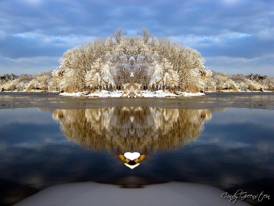 Winter Wonderland Love Photograph by Cindy Greenstein