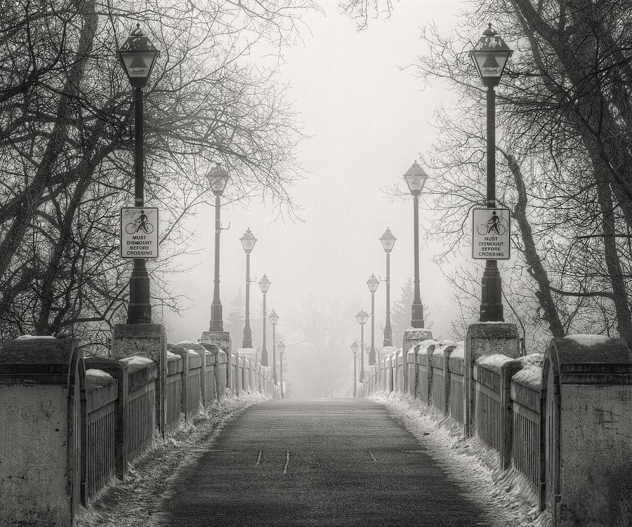Winter Photograph - Winters Bridge by Stuart Deacon