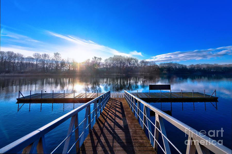 Winters Lake Photograph