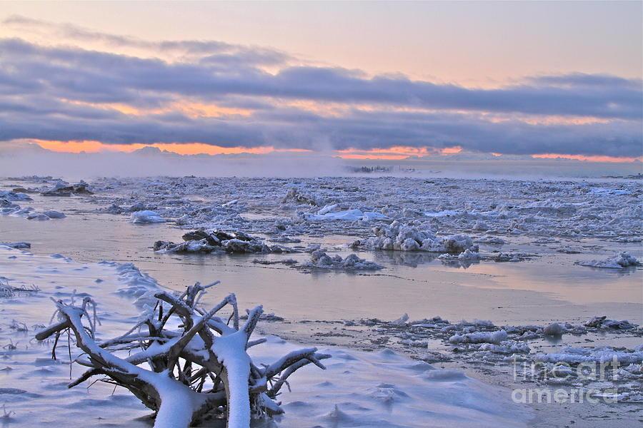 River Photograph - Winters River by Rick  Monyahan