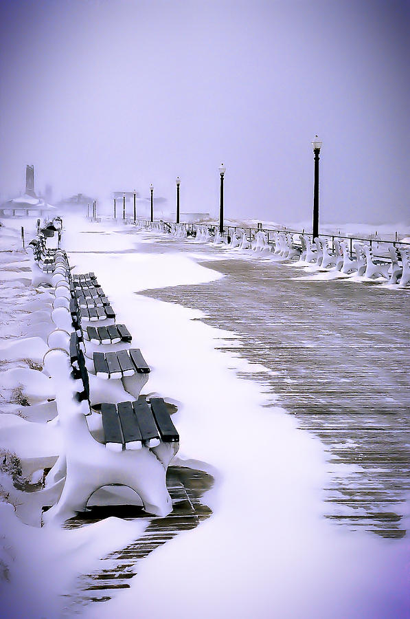 Jersey Shore Photograph - Winters Silence by William Walker