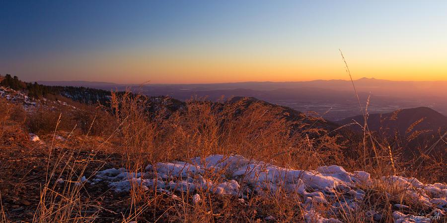 Background Photograph - Winters Splendor by Heidi Smith