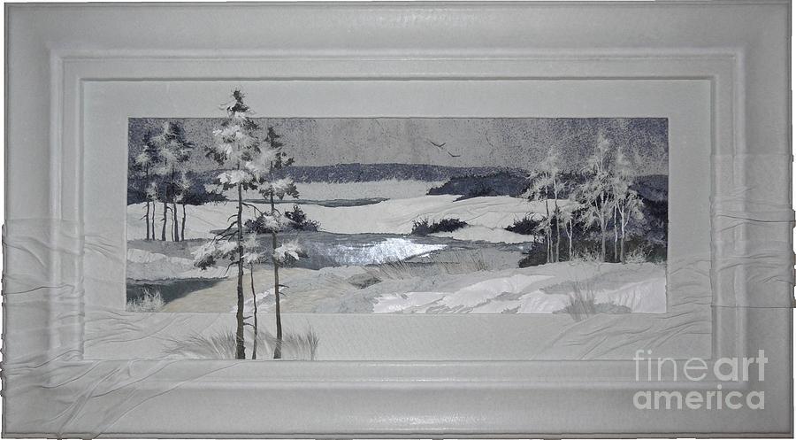 Wintry Dream Painting - Wintry Dream by Yakubouskaya Olga