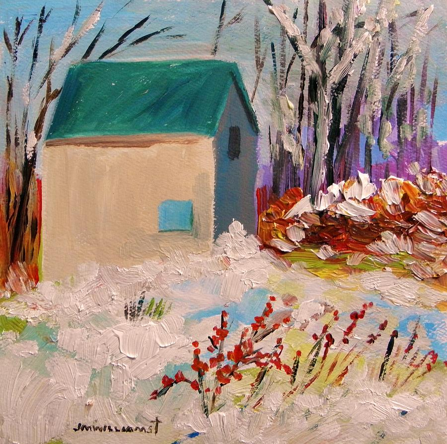 Winter Painting - Wintry by John Williams