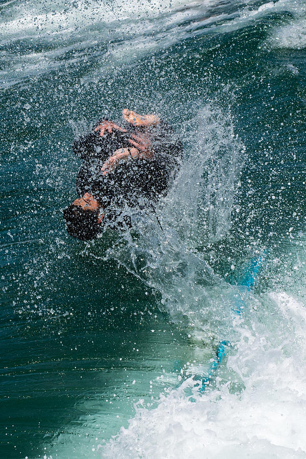 Surf Photograph - Wipe Out by Classic Visions