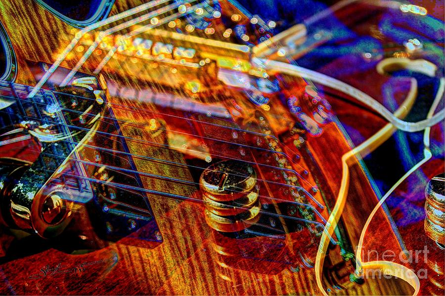 Guitar Photograph - Wipe Out Digital Guitar Art By Steven Langston by Steven Lebron Langston