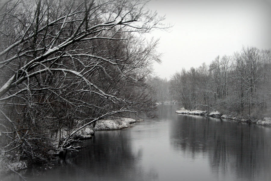 Wisconsin River Photograph - Wisconsin River by Kay Novy