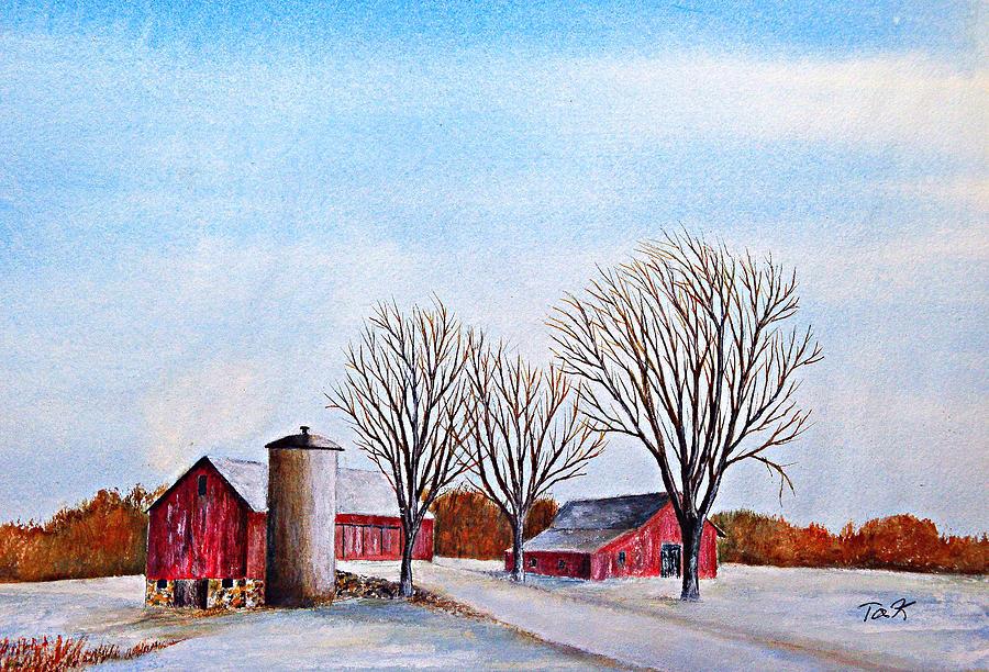 Wisconsin Winter by Thomas Kuchenbecker