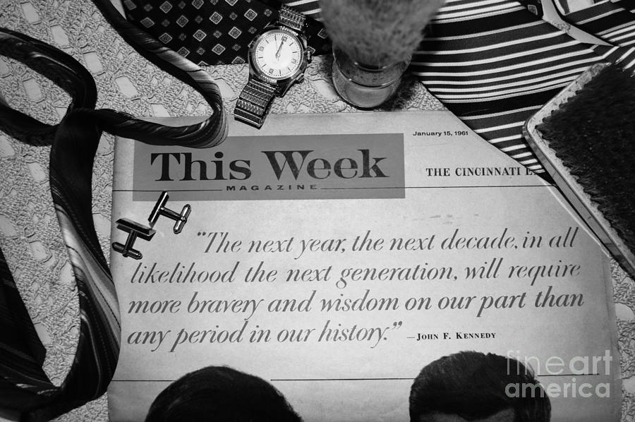 President Kennedy Photograph - Wisdom by Beverly Ann Shelby