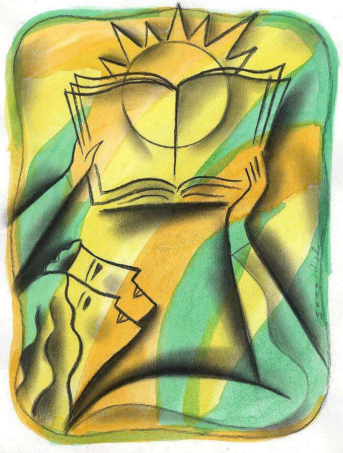 Wisdom Painting by Leon Zernitsky