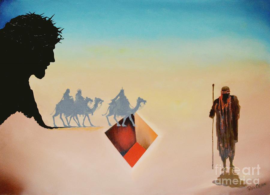 Shepherds Painting - Wise Men Still Seek Him by Peter Olsen