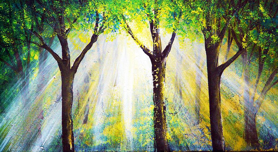 Landscape Painting - Wish by Ann Marie Bone