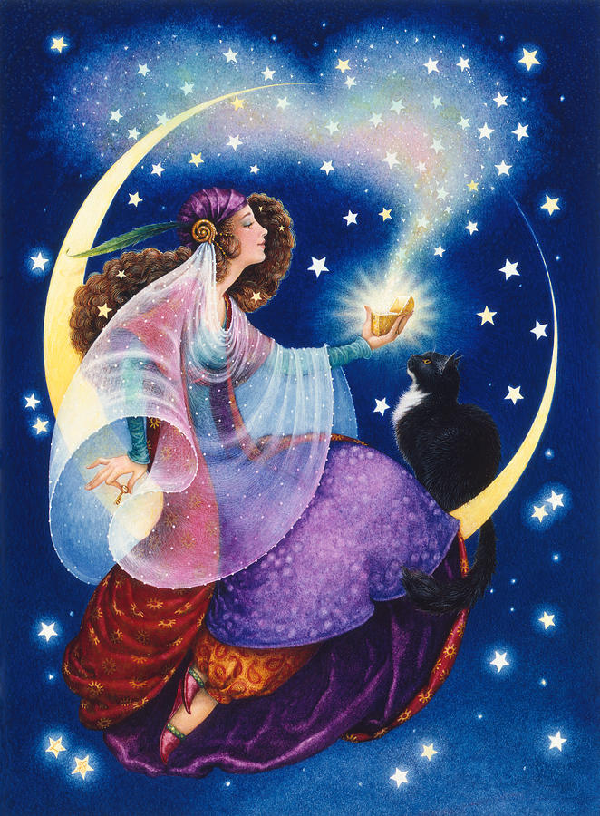 Gypsy Painting - Wishes by Lynn Bywaters