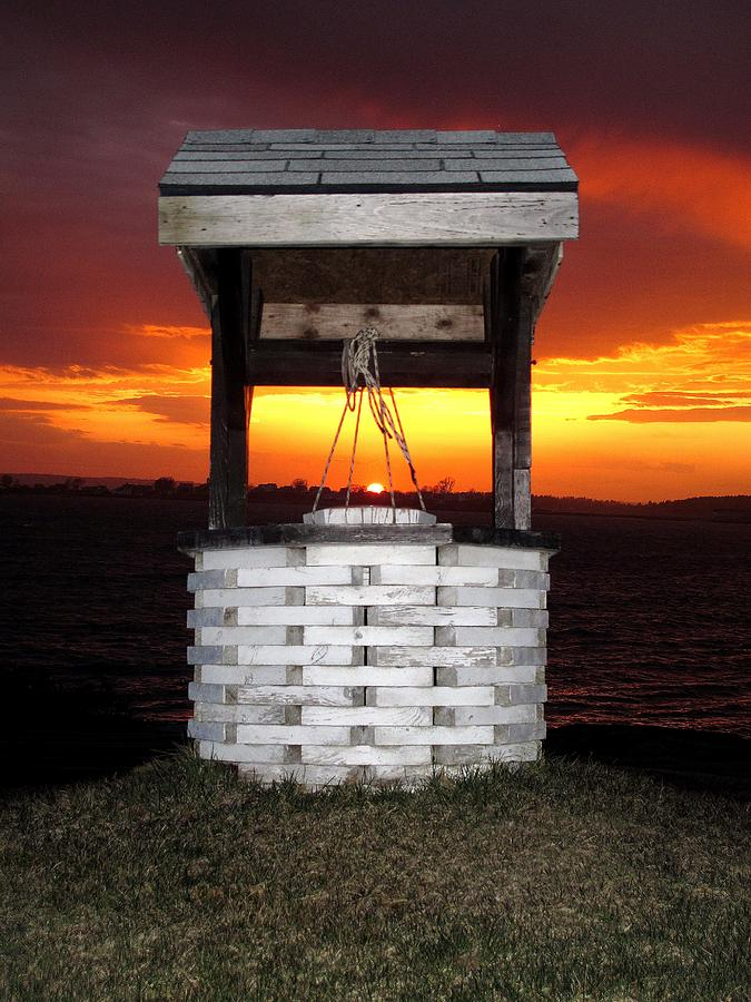 Wishing Well Photograph - Wishing Well by Donnie Freeman