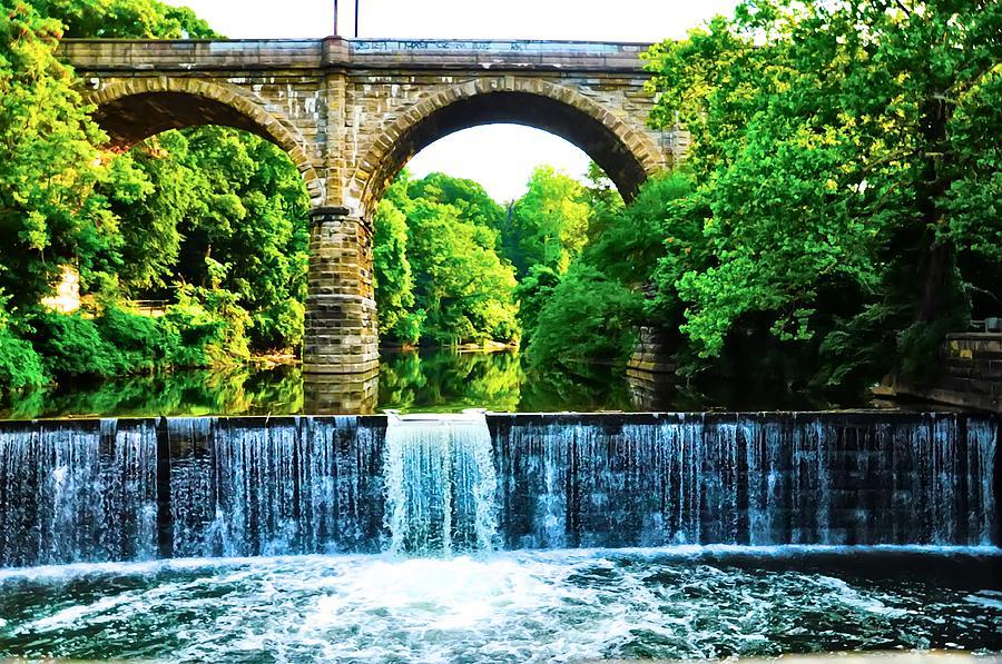 Philadelphia Photograph - Wissahickon Falls by Bill Cannon