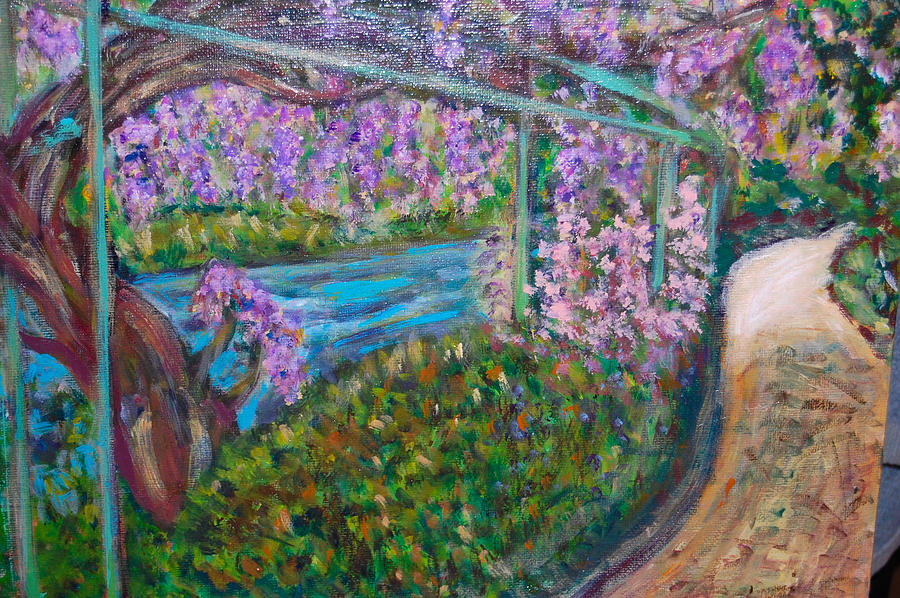 Wisteria by Carolyn Donnell