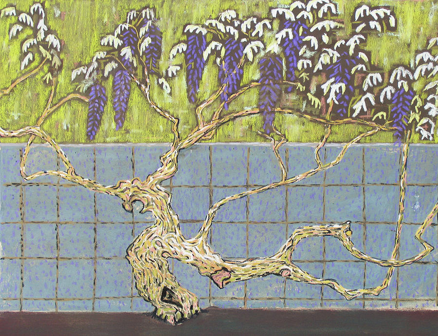 Wisteria Painting - Wisteria by Don Perino