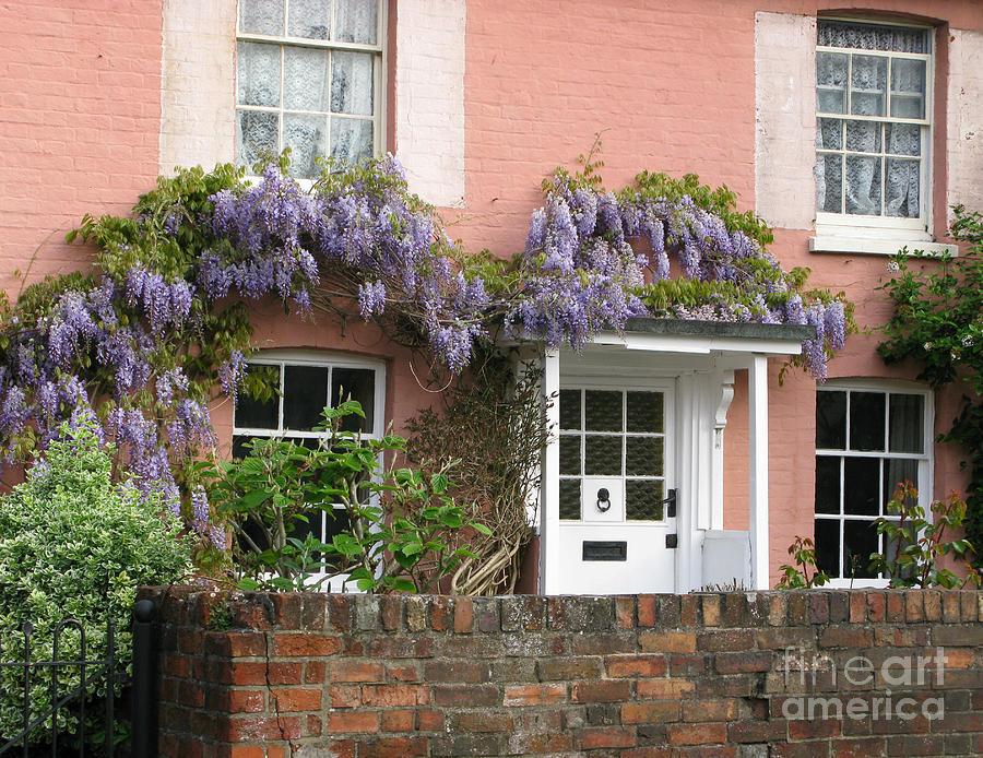 Wisteria Photograph - Wisteria House by Ann Horn
