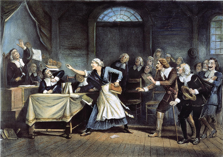 1692 Painting - Witch Trial by Granger