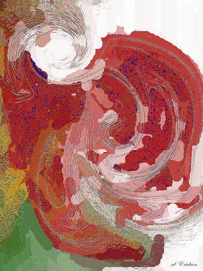 Modern Digital Art - With A Swirl Of Skirt by Roy Erickson