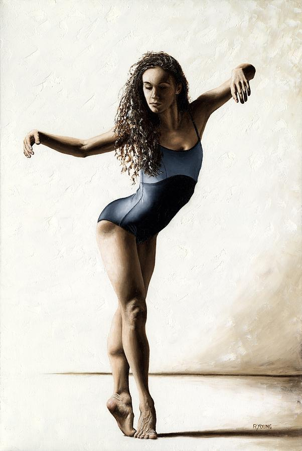 Dancer Painting - With Deftness by Richard Young