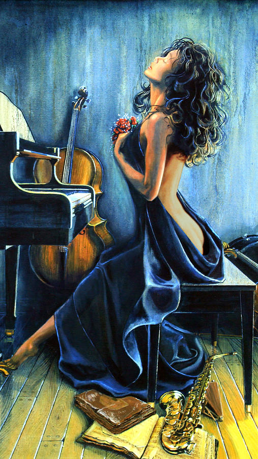 Passion For Music Painting