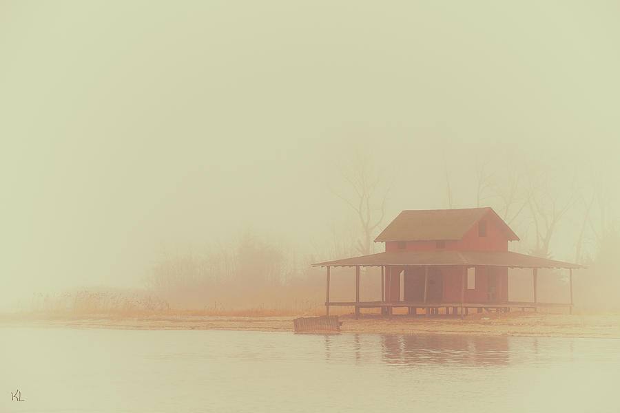Landscape Photograph - Within The Fog by Karol Livote