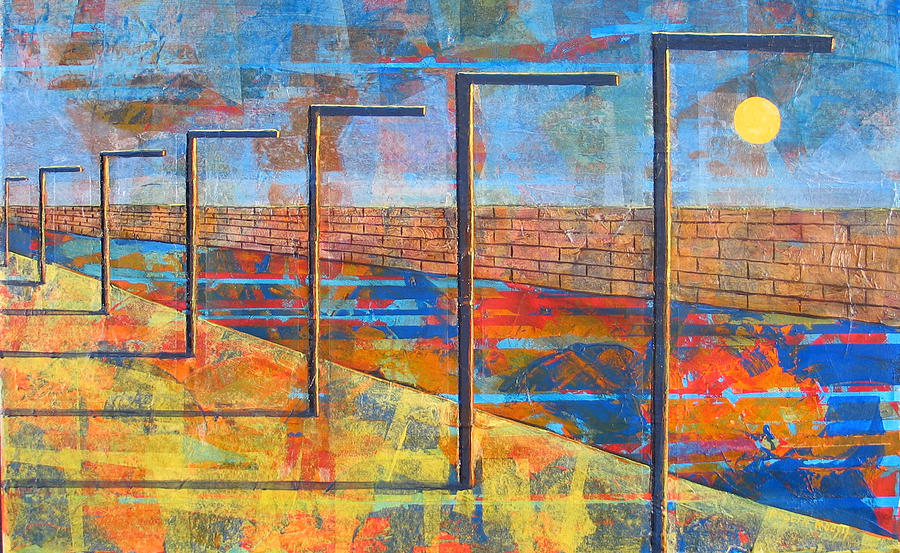 Landscape Painting - Within These Walls by Rollin Kocsis