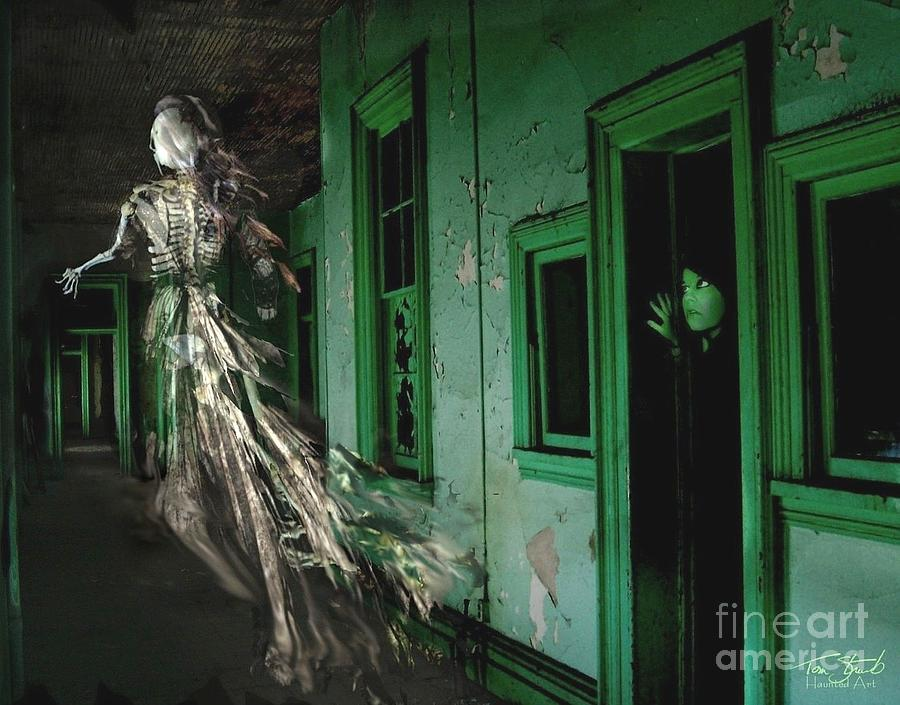 Ghost Photograph - Witness by Tom Straub