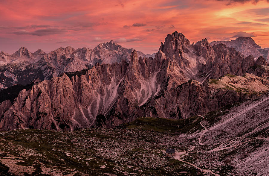 Dolomites Photograph - Witnessed Glory by Andreas Agazzi
