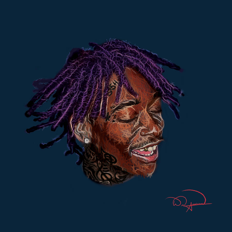 wiz khalifa digital art by will anderson