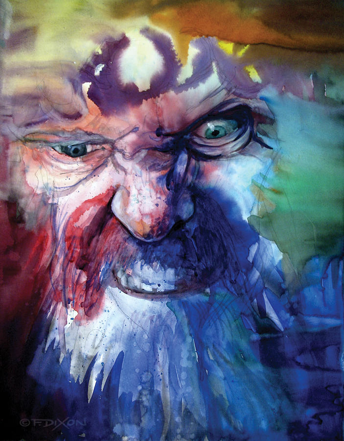 Emotions Painting - Wizzlewump by Frank Robert Dixon