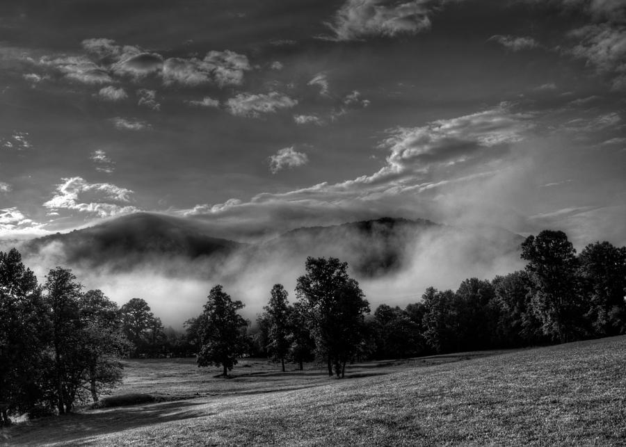 WNC Morning in Black and White by Greg Mimbs