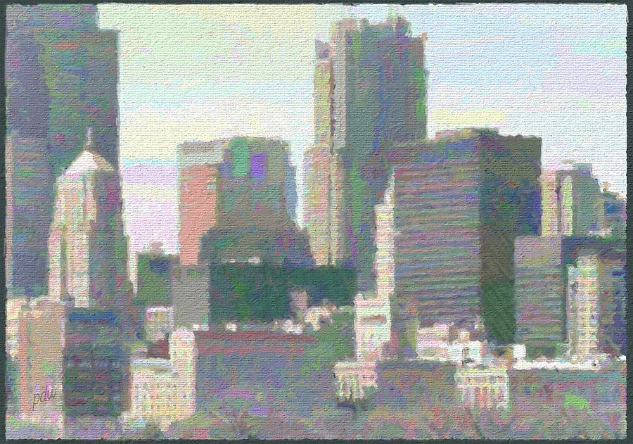 City Painting - Woke Up This Morning by Philip White