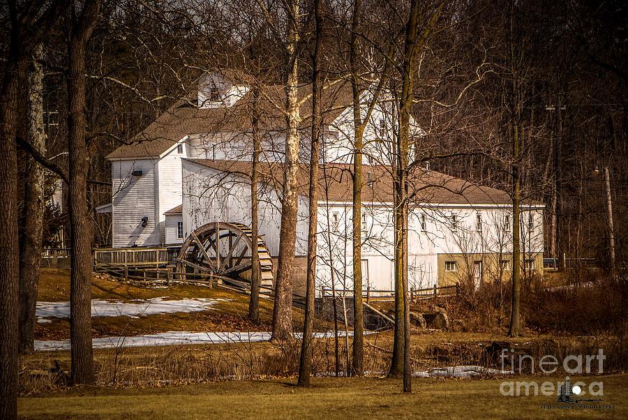 Wolcott Mill Photograph - Wolcott Mill by Grace Grogan