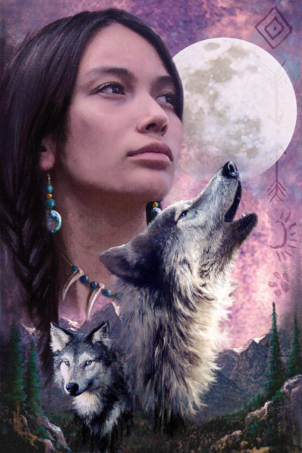 Adult Photograph - Wolf Montage by Garry Walton