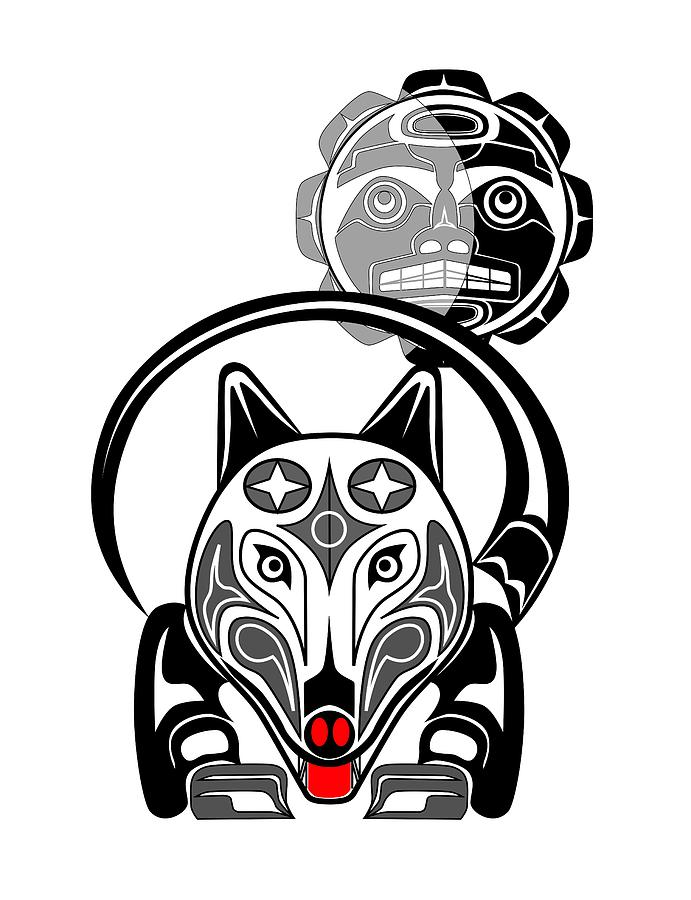 List Of Synonyms And Antonyms Of The Word Native American Wolf Totem
