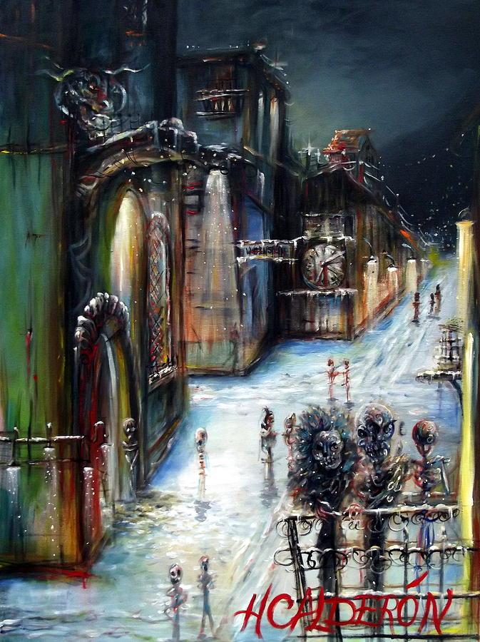 Wolfenstein Painting - Wolfenstein by Heather Calderon
