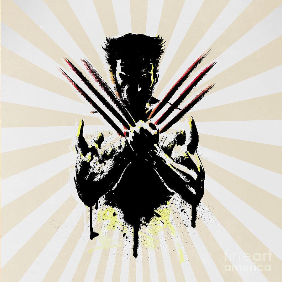 Wolverine Digital Art - Wolverine by Mark Ashkenazi