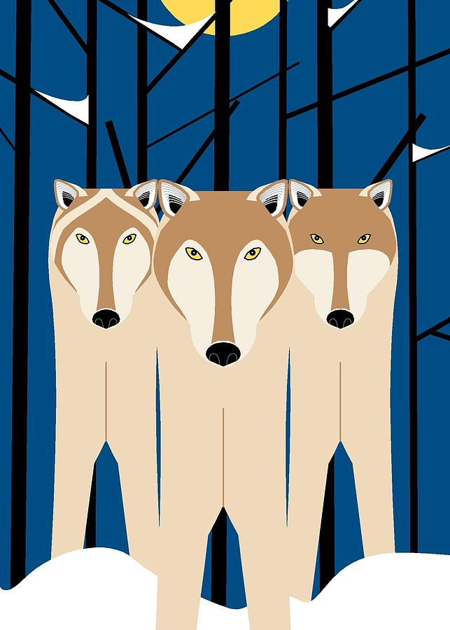 Wolves by Marie Sansone