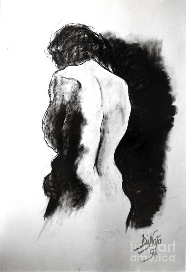 Woman Pastel by Alessandra Di Noto