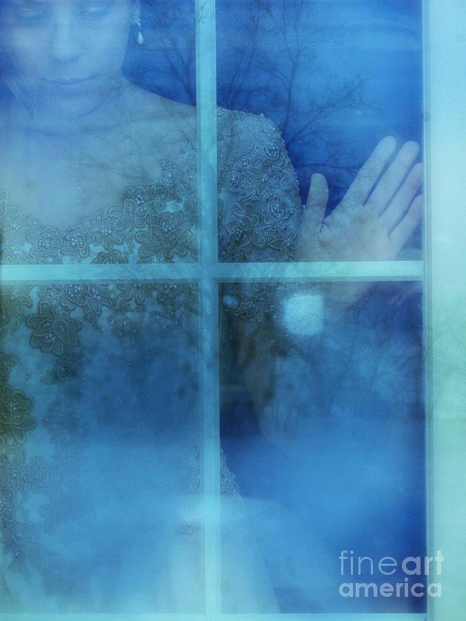 Beautiful Photograph - Woman At A Window by Jill Battaglia