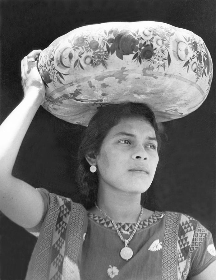 Latin America Photograph - Woman In Tehuantepec, Mexico, 1929 by Tina Modotti