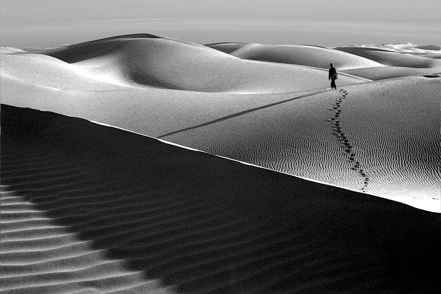 Woman in the Dunes by Neil Pankler