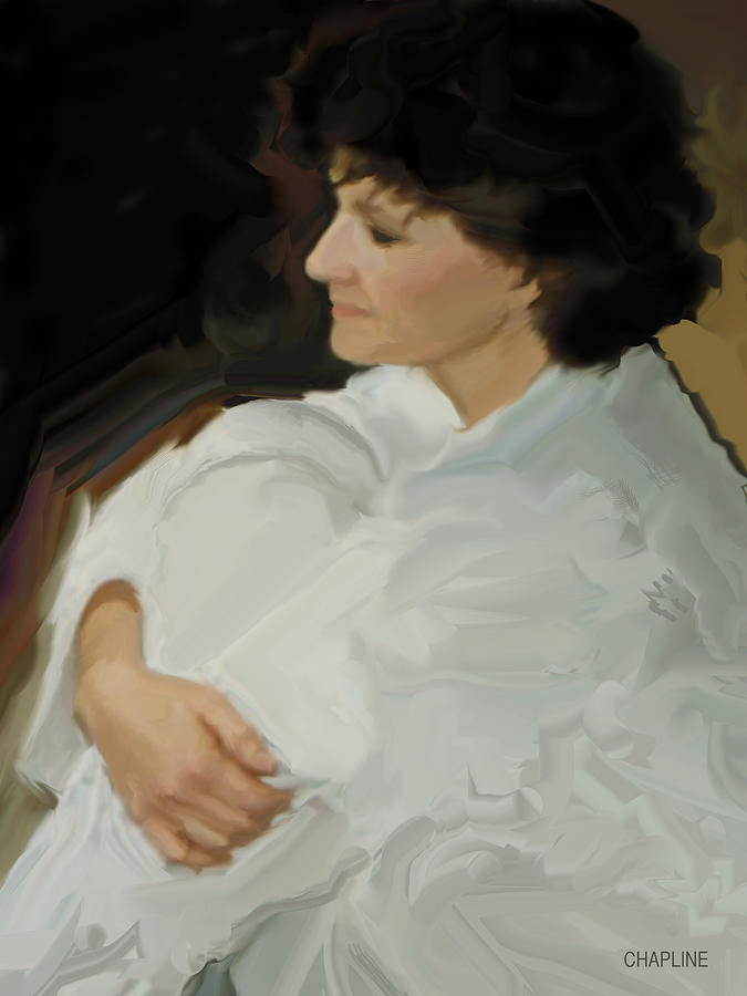 Woman in White by Curtis Chapline